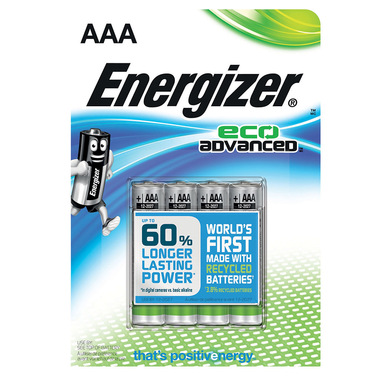 Energizer EcoAdvanced Batteria monouso Mini Stilo AAA Alcalino