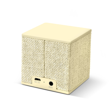 Fresh 'n Rebel Rockbox Cube Fabriq Edition - Buttercup