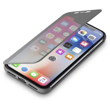 Cellularline BOOK TOUCH Custodia a libro per iPhone X, nero