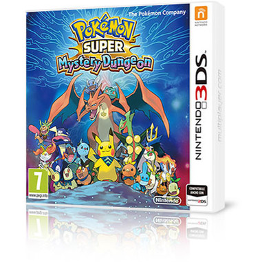 Pokémon Super mystery dungeon - Nintendo 3DS