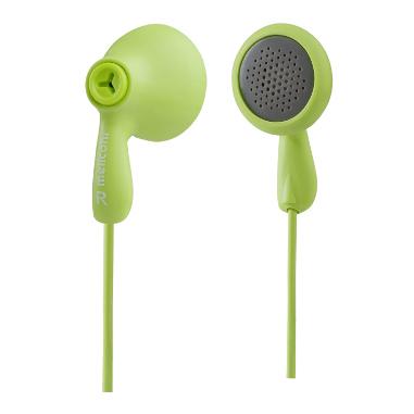 Meliconi EP100 Verde Intraurale Auricolare cuffia