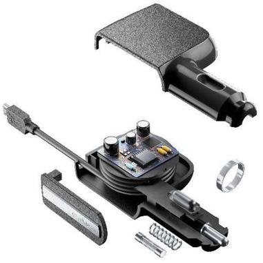 Vivanco CBRARMICROUSB2AK Auto Nero caricabatterie per cellulari e PDA