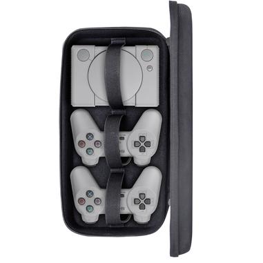 Twodots TDGT0068 Valigetta da trasporto per Playstation Classic e due Joypad