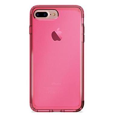 Puro Cover 0.3 Nude per iPhone 7 Plus/8 Plus, Rosa Shocking