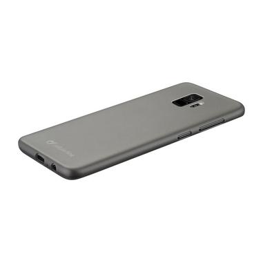 Cellularline Ink - Galaxy S9 Custodia in gomma morbida e finiture soft touch Nero