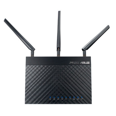ASUS RT-AC66U B1 Dual-band (2.4 GHz/5 GHz) Gigabit Ethernet Nero router wireless
