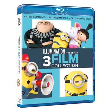 Cattivissimo Me - 3 Movies Collection (Blu-ray)