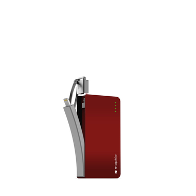 Mophie power reserve Polimeri di litio (LiPo) 1350mAh Rosso batteria portatile