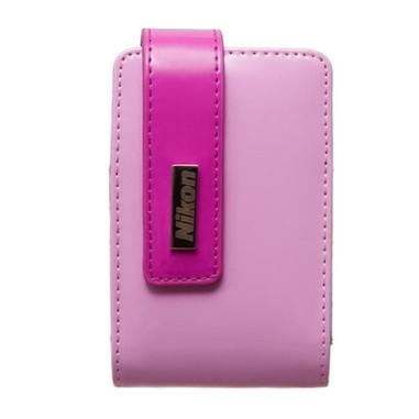 Nikon CS-S29 custodia in pelle per fotocamere Coolpix, rosa