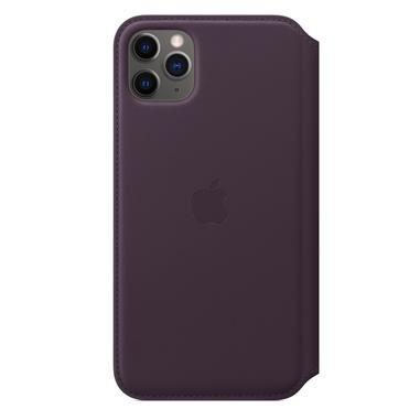 "Apple MX092ZM/A custodia per iPhone 11 Pro Max 16,5 cm (6.5"") Custodia a libro Melanzana"