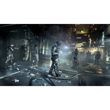 Deus Ex: Mankind Divided, PS4
