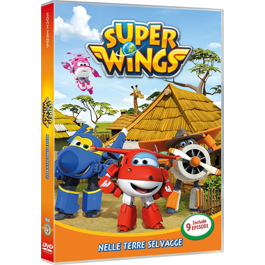 Super Wings Vol.4 (DVD)