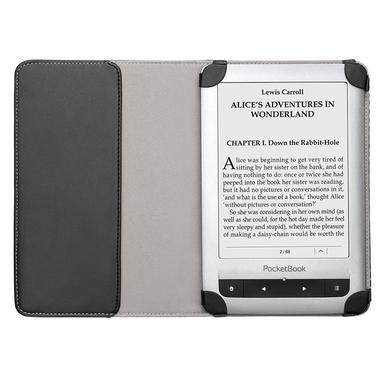 Pocketbook Cover Dots schwarz-grau 6
