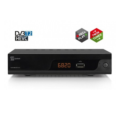 Telesystem TS6820 Terrestre Full HD Nero set-top box TV