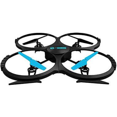 Twodots FALCON drone fotocamera Nero, Blu 4 rotori 2 MP 1280 x 720 Pixel 500 mAh