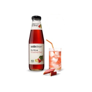 SodaStream Bio-Sirup Rabarber