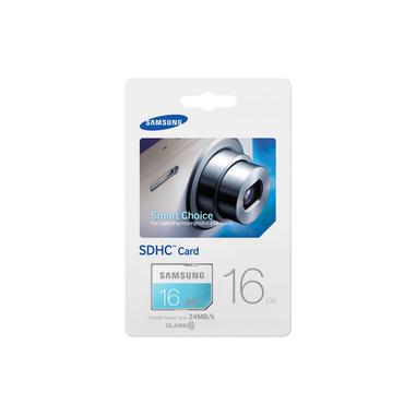 Samsung 16GB, SDHC Standard 16GB SDHC Classe 6 memoria flash