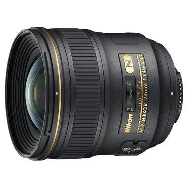 Nikon AF-S NIKKOR 24mm f/1.4G ED Nero