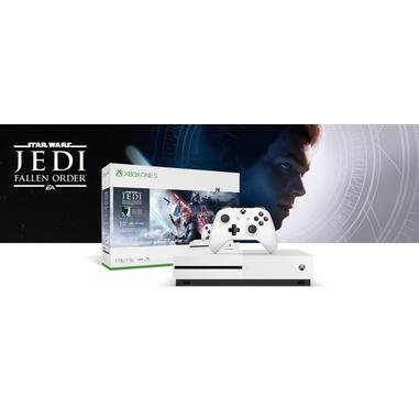 Microsoft Xbox One S 1TB + Star Wars Jedi: Fallen Order Bianco 1000 GB Wi-Fi
