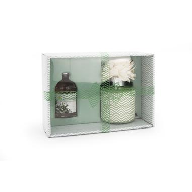 Joia Home Diffusore di essenza color verde con fragranza muschio bianco