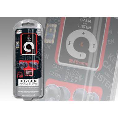 Xtreme Lettore MP3 8 GB, nero