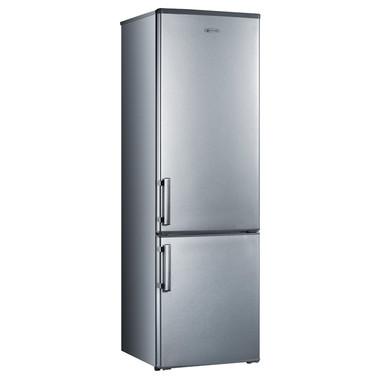 Electroline BME-35HS Libera installazione 273L A+ Argento frigorifero con congelatore
