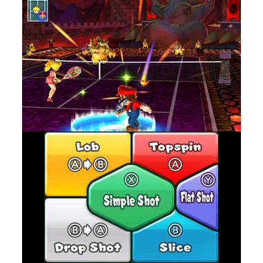 Nintendo Mario Tennis Open, 3DS Selects