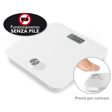 Macom Smart Body Scale Bilancia pesapersone elettronica Quadrato Bianco