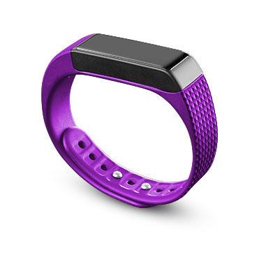 Cellularline Easyfit Touch Wristband activity tracker Senza fili IP67 Nero, Porpora