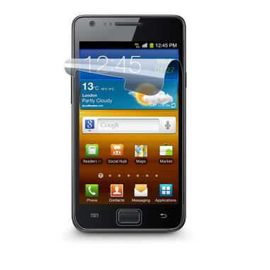 Cellularline Ok Display Invisible - Galaxy S2 Plus/S2 Pellicola protettiva ultra trasparente e facile da applicare Trasparente