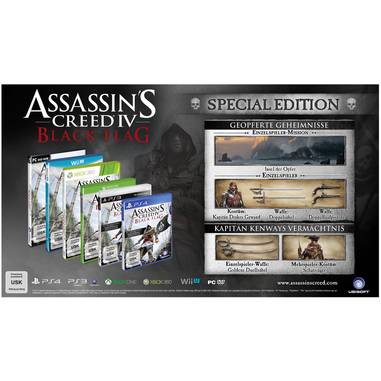 Ubisoft Assassin's Creed IV: Black Flag - Special Edition, PS4