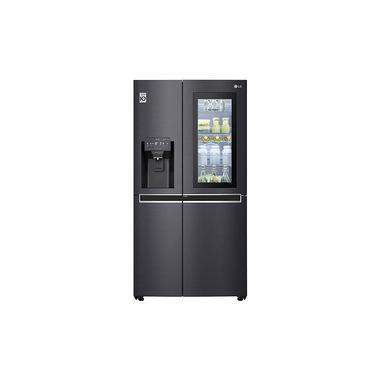 LG GSX960MCCZ frigorifero side-by-side Libera installazione Nero 601 L A++