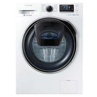 Samsung AddWash WW80K6210RW Libera installazione Caricamento frontale 8kg 1200Giri/min A+++ Bianco lavatrice SLIM
