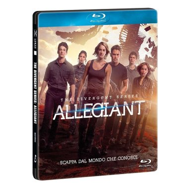 The divergent series: Allegiant - edizione limitata steelbox (Blu-ray)