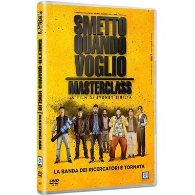 Smetto Quando Voglio - Masterclass (DVD)