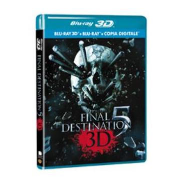 Final Destination 5 3D, Blu-ray