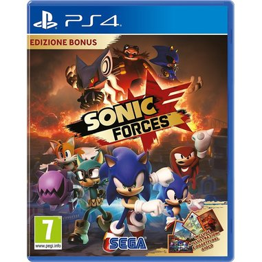 Sonic Forces edizione Bonus - Playstation 4