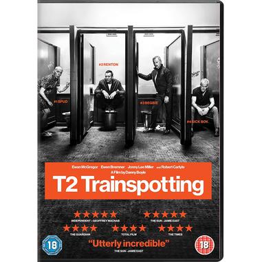 T2 Trainspotting, DVD DVD 2D ITA
