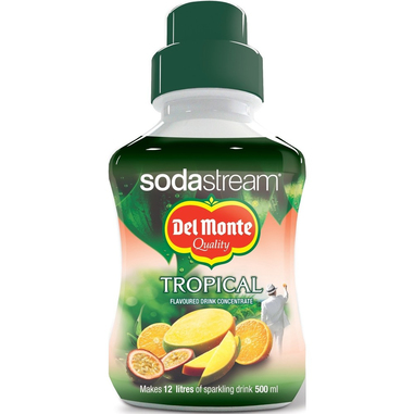 SodaStream Del Monte Tropical Carbonating syrup