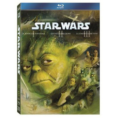Star Wars - trilogia prequel (Blu-ray)