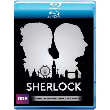 Sherlock - stagioni 1, 2 e 3 (Blu-ray)