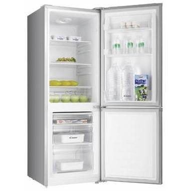 Candy CFM 14502S Libera installazione 165L A+ Argento frigorifero con congelatore