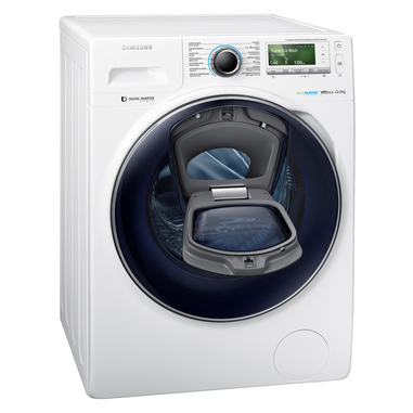 samsung addwash ww12k8402ow libera installazione caricamento frontale 12kg 1400rpm a 50. Black Bedroom Furniture Sets. Home Design Ideas