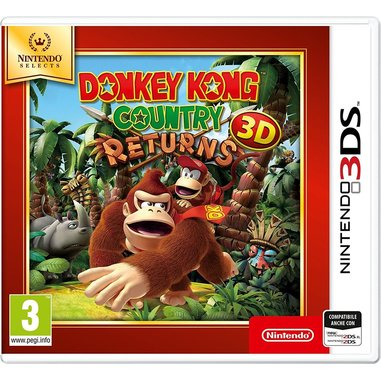 Donkey Kong Country Returns 3D Selects - 3DS
