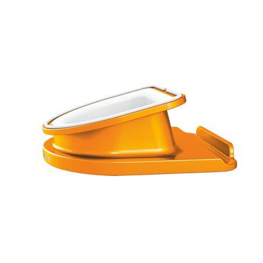 Leitz 62741044 carrello e supporto multimediale Metallico, Arancione Tablet