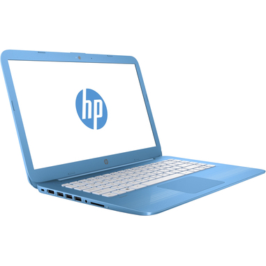 computer portatile hp azzurro  HP Stream Laptop 14-ax008nl | Notebook in offerta su Unieuro