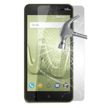 Phonix Tempered Glass Screen Protector per Wiko Lenny 4