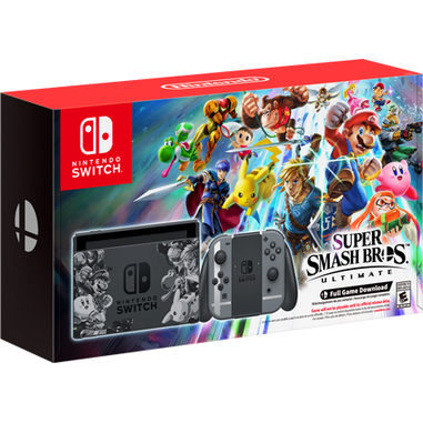Nintendo Switch Super Smash Bros. Ultimate Set 32GB Wi-Fi Nero
