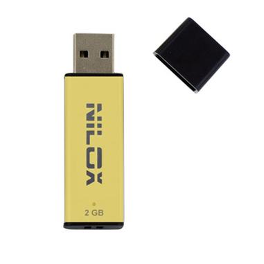 Nilox U2NIL2BL002G unità flash USB 2 GB USB tipo A 2.0 Giallo