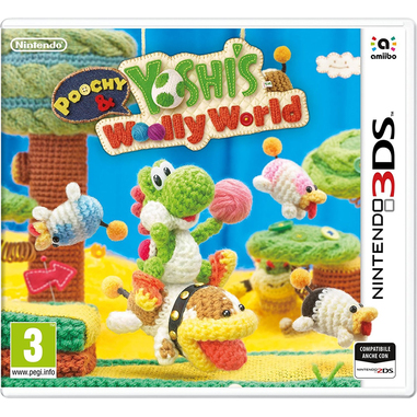Poochy & Yoshi's Woolly World Basic Nintendo 3DS ITA videogioco